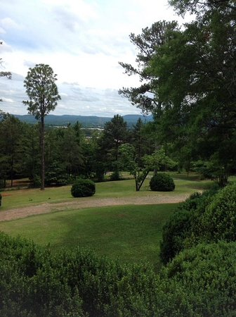 Anniston, AL: View from the front porch of the Springwood Inn