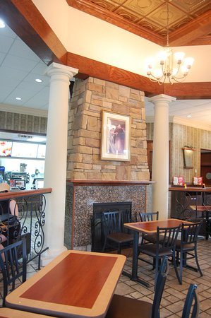 He Biltmoresque Design Of Mcdonald S At Biltmore Village Features A Double Fireplace