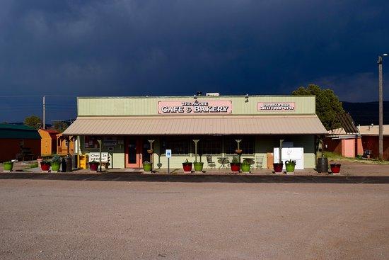 Reserve, NM: Café next to the Motel