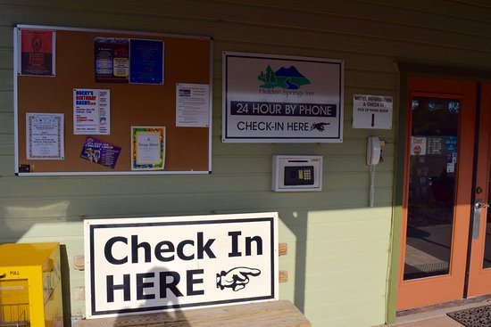 Reserve, NM: self check-in