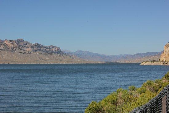 Buffalo Bill Dam: view