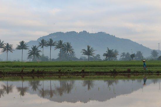 Magelang, Indonésia: Gunung Tidar dipagi hari