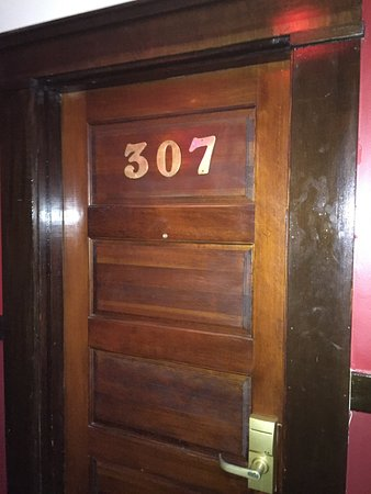Photos taken inside the Glen Tavern Inn and the haunted room number 307