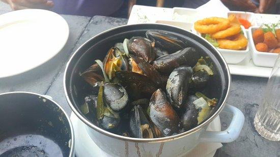 dc099c5183b De Twee Leeuwen: Excellent Mussels!! All the food was very good! Schnitzel