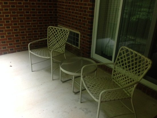 Sweet Briar, VA: Patio