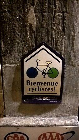 Auberge de La Fontaine: Recebem ciclistas