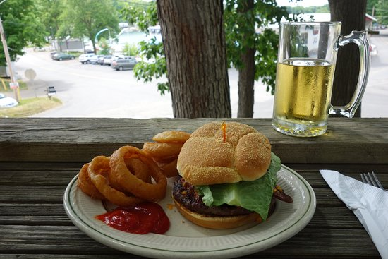 Richland, MI: Burger and Onion Rings