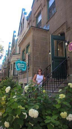 Hotel Manoir de la Terrasse: Entrada