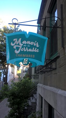 Hotel Manoir de la Terrasse: Nome