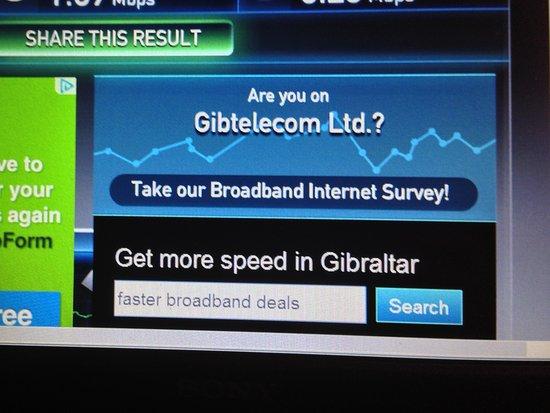 O'Callaghan Eliott Hotel: High speed internet