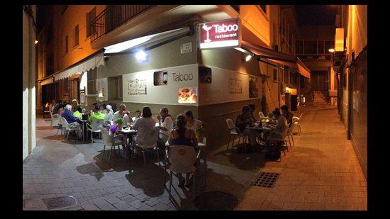 Taboo palamos - Picture of Restaurant Taboo Tapas & Lounge ...