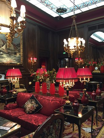 Lobby of Hotel Sacher Wien