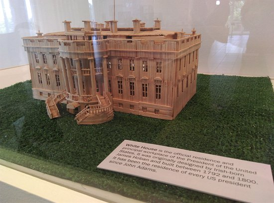 Morris Museum: The White House...in miniature...