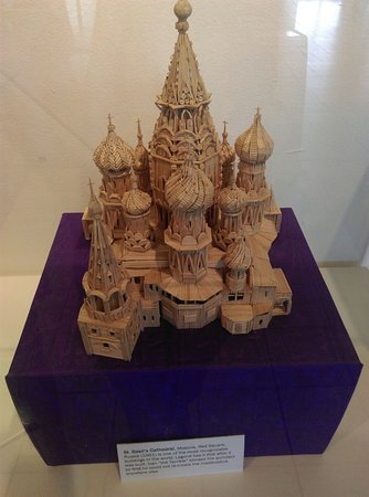 Morristown, NJ: There was incredible detail in this model of St. Basil's Cathedral in Moscow.
