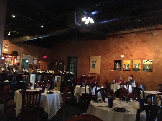 Indigo Restaurant Inside