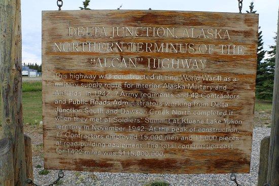 Alaska Highway : End of the road