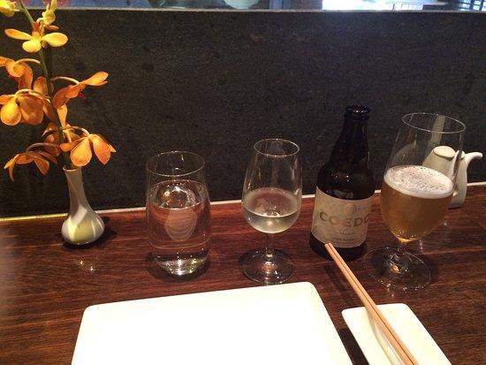 Sake Restaurant & Bar: Coedo Hefeweizen Japanese craft beer and sake