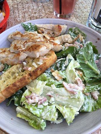 Waterfront Grill: Chicken Caesar Salad