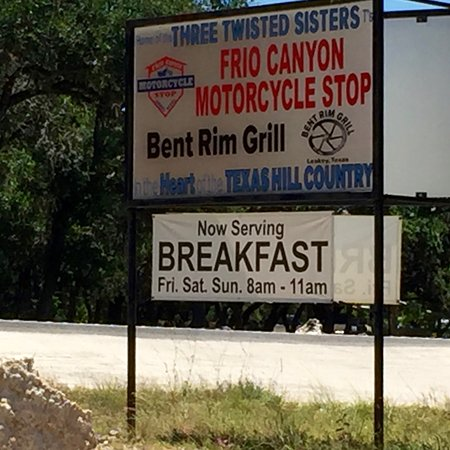 Leakey, TX: Gotta try the breakfast next time.