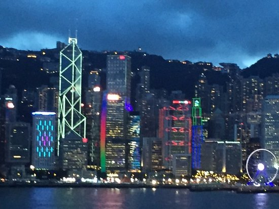 The Salisbury-YMCA of Hong Kong: View from the Suite to Hong Kong isalnd