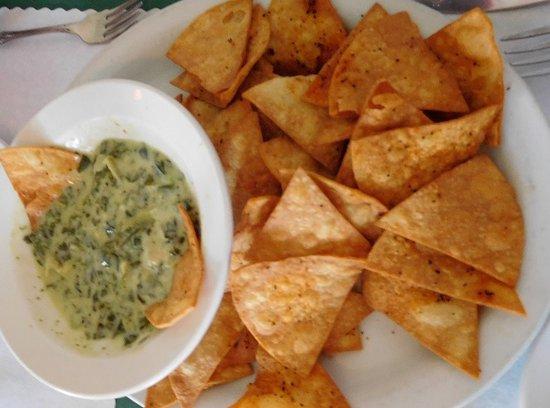 Memories Restaurant : Artichoke Dip