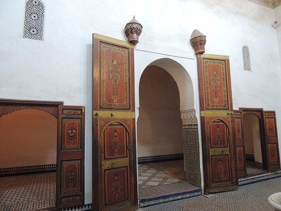 puertas al comedor: fotografía de Palacio de la Bahía, Marrakech ...