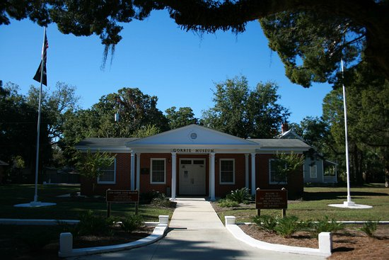 John Gorrie State Museum: John Ggorrie Museum Historic State Park in Apalachicola, Florida.