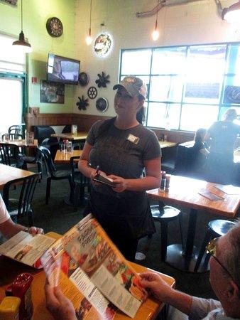 Quaker Steak & Lube: Our server - she was wonderful
