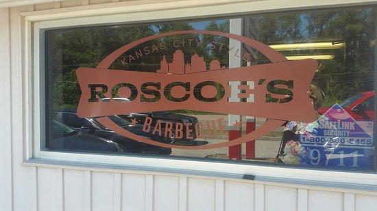Edwardsville, KS: Roscoe's BBQ