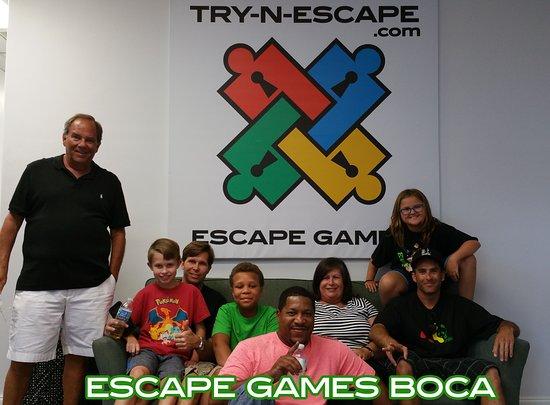 Escape Room Boca Raton >> Boca Best Escape Room Picture Of Try N Escape Boca Raton
