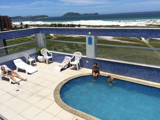 Hotel Balneario Cabo Frio: Arena blanca como no vi ni en el Caribe