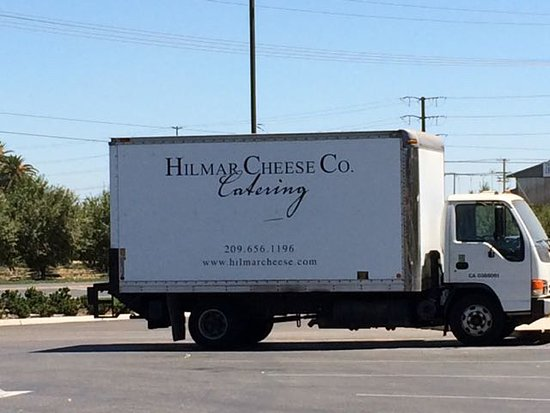 Hilmar, CA: Nilmar cheese truck outside the factory.