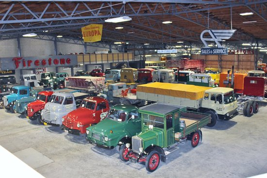 Invercargill, New Zealand: Just A Few Of The Huge Truck Collection