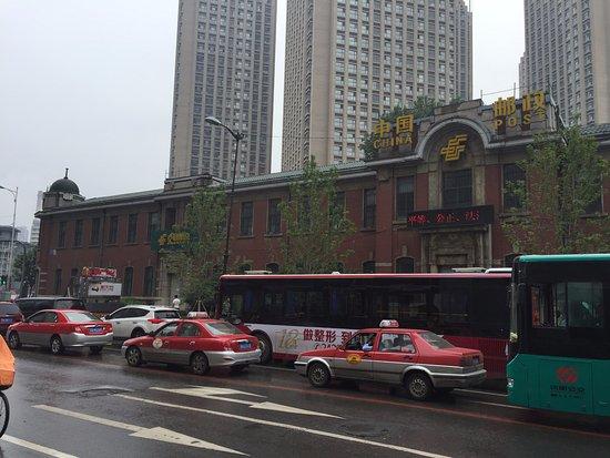 Shenyang Four Towers: 旧奉天郵便局 これを越えて左に曲がると太原北街の道