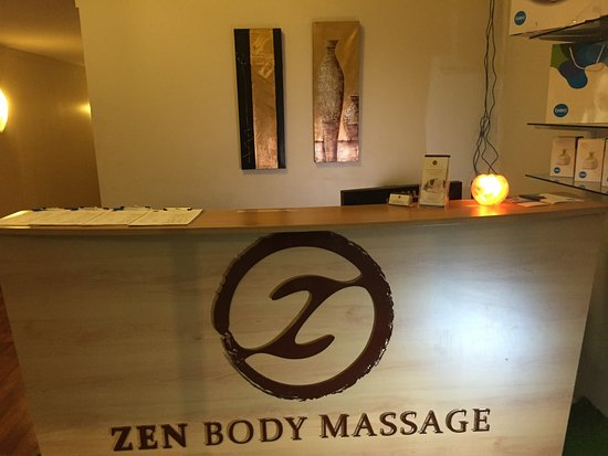 Full Body Massage From The Front