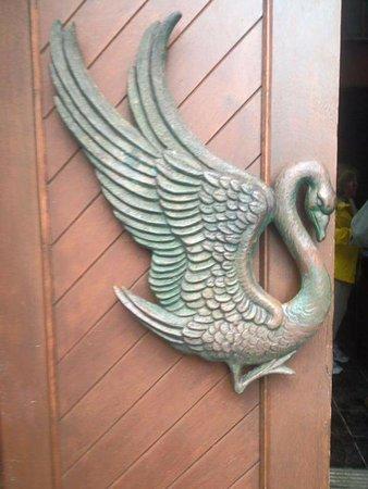 Drumcliff, Irlanda: Door detail