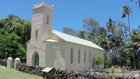 Kalaupapa, Hawái: St Philomena Church