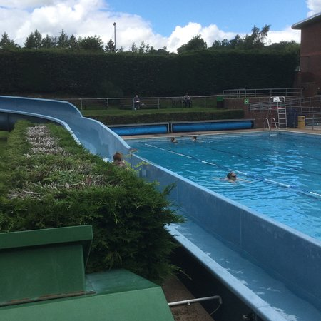 Haltwhistle Swimming and Leisure Centre: Water slide