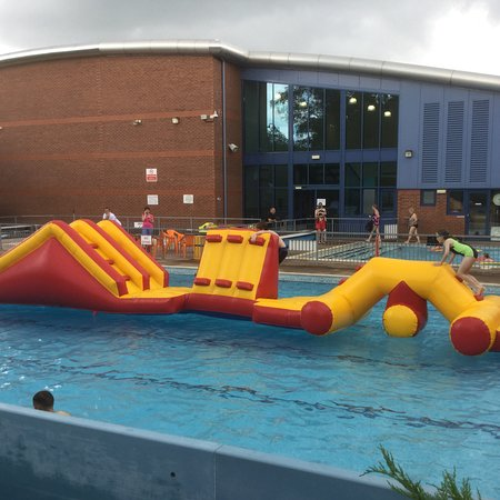 Haltwhistle Swimming and Leisure Centre: Fun inflatable