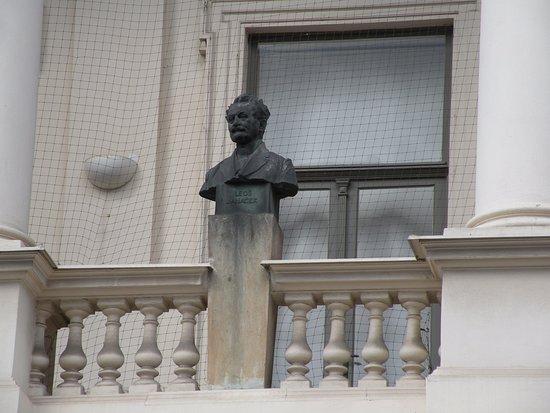 Brno, República Checa: busto del compositore