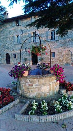 Coldimolino Country House: L'ingresso dell'albergo visto dal pozzo...