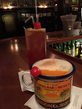 Pusser's Bar Munich: Super Bar mit ausgezeichnetem Personal.