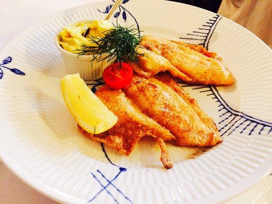 Restaurant Amalie : fried fish