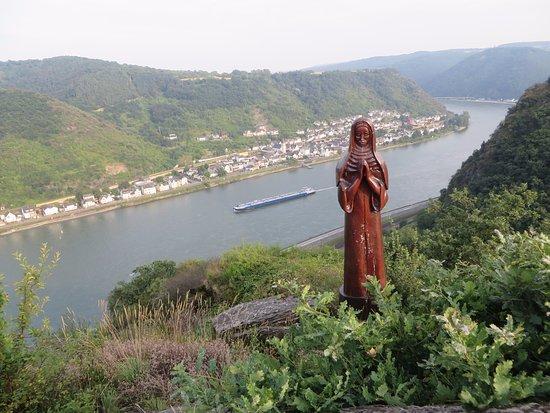 Landgasthof Eiserner Ritter: Uitzichtpunt Betende Nonne op 5 minuten lopen van het hotel
