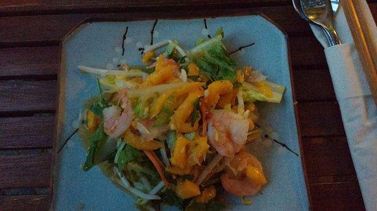 Vinpearl: Ensalada de Mango!!