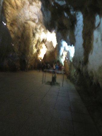 Waitomo Glowworm Caves: cave