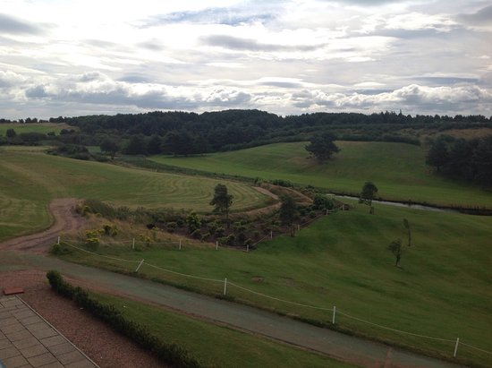 Drumoig, UK: View from honeymoon suite