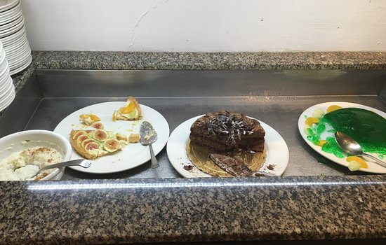 Hotel St. George: Terrible all inclusive food!
