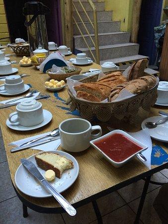 Pantastico Bed & Bakery : Pain frais, préparé dans la maison même!