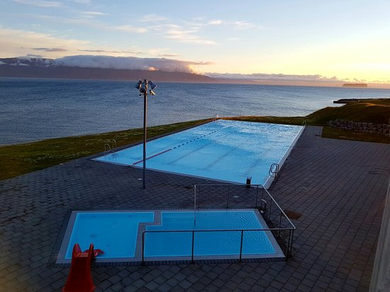 Hofsos, Island: Swimmingpool